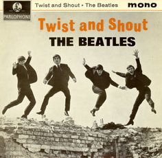 The Beatles: Twist and Shout Album Cover Parodies. A list of all the groups that have released album covers that look like the The Beatles Twist and Shout album. Beatles Mono, Les Beatles, Beatles Bible, Twist And Shout, Cover Songs, Lps, Beatles Singles, Beatles Album Covers, Liverpool