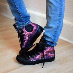 Starry Night Converse.