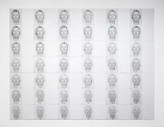 Roman Opalka Roman Opalka, Make Art, Textures Patterns, Oeuvre D'art, Contemporary Art, Street Art, Drawings, Artwork, Artists