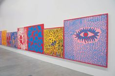 'Yayoi Kusama: Look Now, See Forever', Gallery of Modern Art, 2011 Yayoi Kusama, Kunst Inspo, Art Inspo, Psychedelic Colors, Gallery Of Modern Art, Feminist Art, Action Painting, 3d Max, Japanese Artists