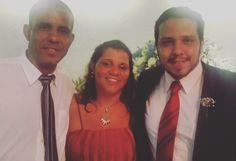 Minha irmã e meu irmão. Deu uma saudade agora.  #Family  #Familia  #FamiliaBuscapé