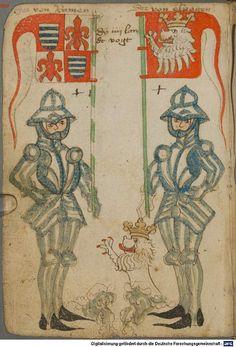 Ortenburger Wappenbuch Bayern, 1466 - 1473 Cod.icon. 308 u  Folio 25v