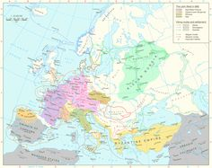 Magyar, Saracen and Vikings invasions of Europe during the period of 793 AD to 1000 AD