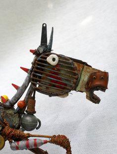 gerard collas, sculpture, horse