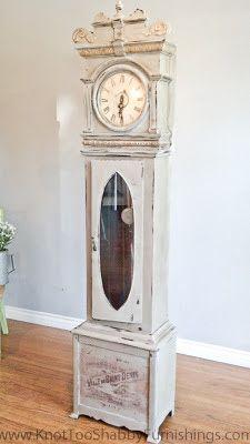 knot too shabby: Grandfather Clocks