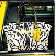 COACH OCELOT HAIRCALF CANDACE CARRYALL. Gorgeous bag! However, I think paying the mortgage is a more responsible choice.