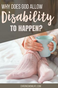 Why did God allow disability to happen to this special needs mom? It's natural to wonder why God allows bad things to happen. Chronic Illness, Chronic Pain, Fibromyalgia, Weight Loss Plans, Weight Loss Tips, Lose Weight, Special Needs Mom, Feeling Hungry, Bad Feeling