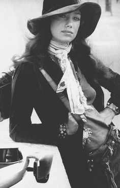 Marisa Berenson by Anthony Horth, 1970