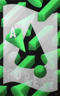 A FOREST poster on Behance
