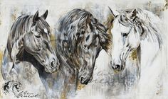 Elise Genest Portrait of Ole, Q and Arty Painting Abstract Horse Painting, Watercolor Horse, Painted Horses, Pretty Horses, Beautiful Horses, Horse Illustration, Horse Artwork, Horse Silhouette, Horse Drawings