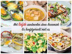 6x hoofdgerecht met vis – met liefde aanbevolen door Annemiek Fresh Rolls, Ethnic Recipes, Food, Essen, Meals, Yemek, Eten