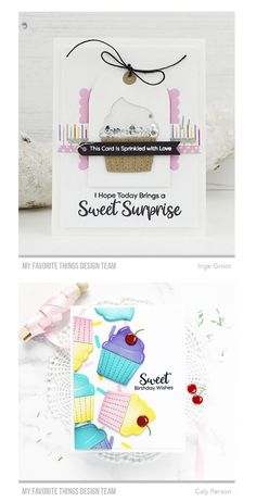 Marianne Design, Birthday Wishes, Sprinkles, Cupcake, Crafty, My Favorite Things, Cards, Ideas, Wishes For Birthday