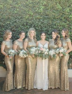 bridesmaid dresses idea; Photo: Acres of Hope Photography