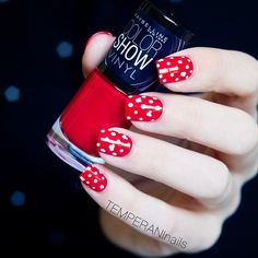 Red and white and cute all over.