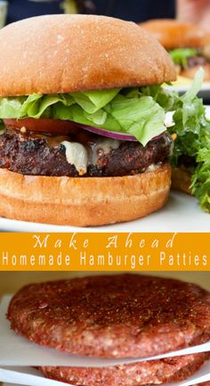 Homemade Hamburger Patties    Ingrédiénts :   Homemade Hamburger Patties    2 lbs ground bééf  4 tsp paprika  3 tsp ground black péppér  2...