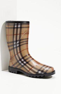 Burberry Rain Boot
