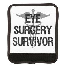 #Eye Surgery Survivor Luggage Handle Wrap - #travel #accessories