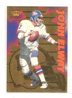 1996 Pacific Litho Cel Feature Performances #6 John Elway Denver Broncos
