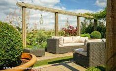 Jardin de style de stile Rural par Matt Nichol Garden Design Ltd.