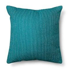 Room Essentials™ Stitch Solid Pillow - Teal