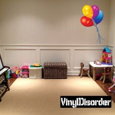 Full Color Balloon Vinyl Wall Decal or Car Sticker Balloons BA014