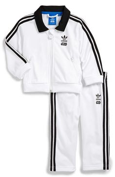 adidas 'Star Wars - Stormtrooper' Tracksuit (Baby Boys) available at #Nordstrom
