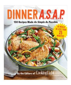 Love this Dinner A.S.A.P. Paperback by Time Inc. on #zulily! #zulilyfinds