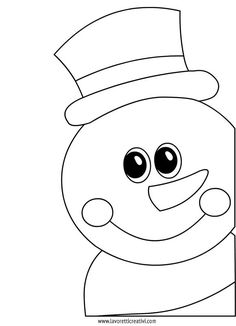 Piroska's statistics and analytics Christmas Classroom Door, Christmas Door, Winter Christmas, Christmas Stockings, Snowman Coloring Pages, Christmas Coloring Pages, Diy And Crafts, Christmas Crafts, Crafts For Kids