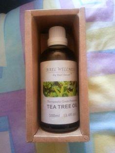 Test + Try =Results : Bael Wellness Tea Tree Oil