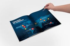 Annual Report Brochure Template on Behance