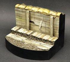 Diodump DD055 Trench Base 1 35 Scale Diorama Vignette Figure Base ...