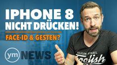iPhone 8: KRASSE Umgewöhnung? [Keine Home-Taste Face-ID & neue Gesten] | youmac NEWS
