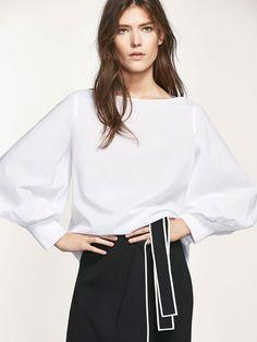 Massimo Dutti - Camisas e blusas para a primavera