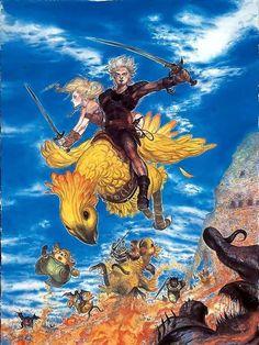 Yoshitaka Amano - Final Fantasy XI