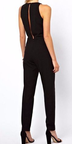 Elegant Sleeveless Jumpsuit-Low inventory! Get it now! Fabric Type: Chiffon Material: Polyester