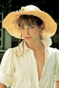 """I'd rather live on my own than live with a face that looks at me with the wrong eyes."" Jane Birkin"