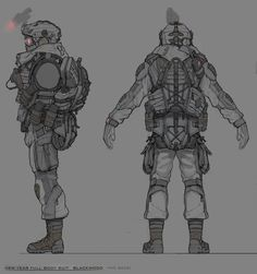 ArtStation - my concept art for crytek (winter set), Denis Didenko