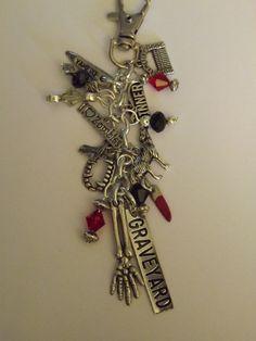 Anita Blake Vampire Hunter Inspired bag charm by CharminglyDivine, $14.00