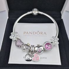 $149 NEW pandora charm bracelet with 8pcs charms/golden head clasp - Xingjewelry#pandora#charm#bracelet#snakechain#bracelet#heart#clasp#bangle#specialoffer#new#hot#affordableprice#muranoglass#charm#bead#eiffel#tower#pendant#pink#flower (scheduled via http://www.tailwindapp.com?utm_source=pinterest&utm_medium=twpin)