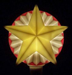 Vintage NOMA Canada Christmas Lights SOFT PLASTIC Tree by NoellKat