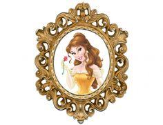 Placa Tag Mandala Moldura Festa A Bela e a Fera - Decorando e Grudando Belle Cake, Princess Theme Party, Beauty And The Beast Party, Modern Disney, Princesas Disney, Disney Love, 3rd Birthday, Disney Pixar, Selena Gomez