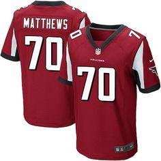 nike falcons jake matthews red team color super bowl li 51 mens stitched nfl elite jersey