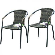 <p>Pinottava Maike puutarhatuoli jonka runko valmistettu teräksestä ja istuin- ja selkänojaosat muovipunoksesta.</p> <p></p> <p><strong>Tekniset tiedot</strong> <br />Mitat: 54 x 53 x 74 cm</p>