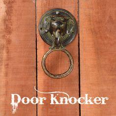 Door Knockers, Bronze, Doors, Gate