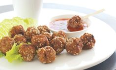 These delicious Spicy Thai Meatballs are perfect as appetizers or with a main meal on Christmas Day.
