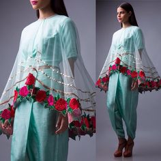 Autumn Love: Bright and breezy silhouettes with beautiful floral motifs. Shop Aneekha's new line on Exclusively.com#Aneekha #Autumn #Winter #AW #lehengas #Suits #Dresses #Anarkalis #fusion #suits #saris #indianfashion #floral #Indian #shop #online #shopping #diwali #festive #celebration #designer #fashion #style #runway #pret #luxury #couture #instafashion #Exclusively #ExclusivelyIN by exclusivelyin