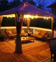 Lighting for patio