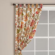 tons of great curtains with poppy colors at World Market this morning.