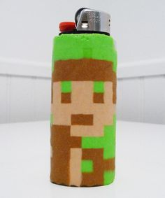 Zelda Link Perler Bead LIGHTER CASE by LighterCases on Etsy, $10.00 ©