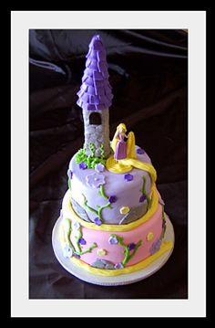 Rapunzel cake idea
